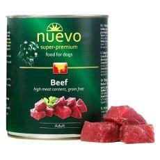 Konzerva NUEVO DOG Adult Beef 800 g