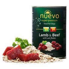 Konzerva NUEVO DOG Senior Lamb & Beef 400 g