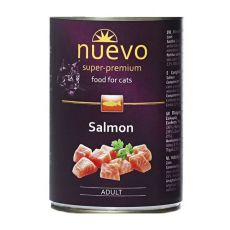 Konzerva NUEVO CAT Adult Salmon 400 g
