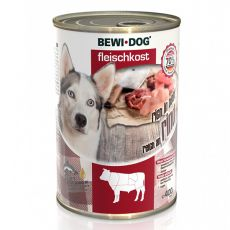 New BEWI DOG konzerva – Hovädzie mäso, 400 g