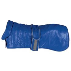 Kabát pre psy Trixie Arles Coat modrý, M 50 cm