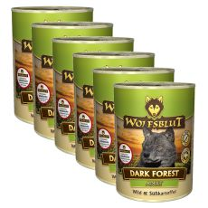 Konzerva WOLFSBLUT Dark Forest, 6 x 395 g