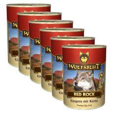Konzerva WOLFSBLUT Red Rock, 6 x 395 g