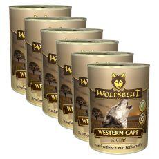 Konzerva WOLFSBLUT Western Cape, 6 x 395 g