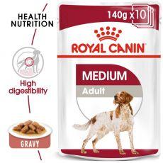 Royal Canin Medium Adult kapsička pre dospelé stredné psy 140 g