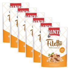 Kapsička RINTI Filetto kura + kuracie srdcia, 6 x 100 g