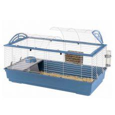 Klietka pre zajace a morčatá CASITA 120, modrá