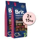 Brit Premium by Nature Junior Large 2x15 kg
