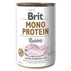 Konzerva Brit Mono Protein Rabbit, 400 g