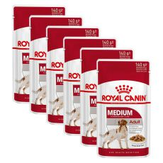 Kapsička Royal Canin Medium Adult 6 x 140 g