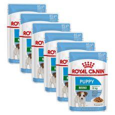 Royal Canin Mini Puppy kapsička pre malé šteňatá 6 x 85 g