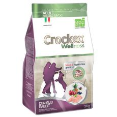 Crockex Adult Rabbit & Rice 3 kg