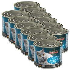 Konzerva pre mačky Leonardo - Ryba 12 x 200g