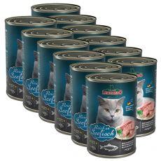 Konzerva pre mačky Leonardo - Ryba 12 x 400g