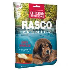 RASCO PREMIUM kosti obalené kuracím mäsom 80 g