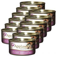 Applaws Cat - konzerva pre mačky s makrelou a sardinkou, 12 x 70g