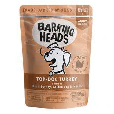 BARKING HEADS Top Dog Turkey GRAIN FREE 300 g