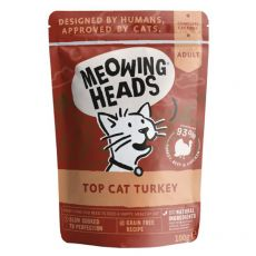 MEOWING HEADS Top Cat Turkey GRAIN FREE 100 g