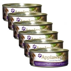 Konzerva APPLAWS dog kura a zelenina, 6 x 156g