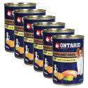 Konzerva ONTARIO Teľacie so sladkým zemiakom a ľanovým olejom – 6 x 400g