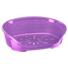Ležadlo pre psa SIESTA DELUXE 10 - fialové