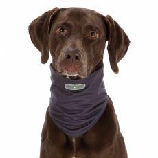 Repelentná šatka pre psy XL, sivá