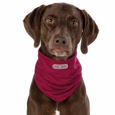 Repelentná šatka pre psy XL, bordová