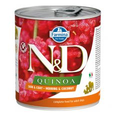 Farmina N&D dog Quinoa Herring & Coconut 285 g