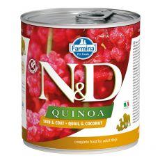Farmina N&D dog Quinoa Quail & Coconut 285 g