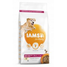 Iams Dog Senior Large Breed, Chicken 12 kg