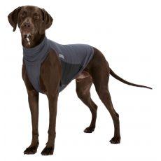 Repelentná vesta pre psy L, sivá