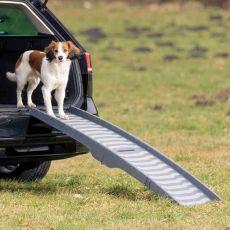 Plastová skladacia rampa pre psov, 39 x 150 cm
