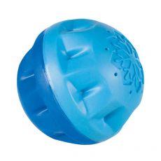 Hračka pre psa - chladiaca lopta, modrá 8 cm