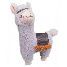 Plyšová hračka pre psa - alpaka, 31 cm