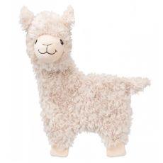 Plyšová hračka pre psa - šuštiaca lama, 40 cm