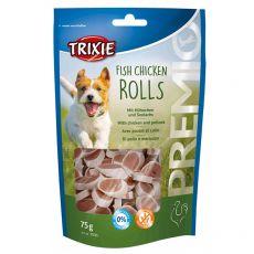 Trixie PREMIO Chicken Rolls, kura a treska 75 g