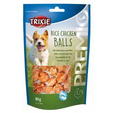 Trixie PREMIO Rice Chicken Balls, kura a ryža 80 g