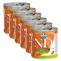 Farmina N&D dog Boar & Pumpkin & Apple konzerva 6 x 285 g, 5+1 GRATIS