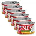 Farmina N&D dog Quinoa Quail & Coconut 6 x 140 g, 5+1 GRATIS