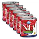 Farmina N&D dog Quinoa Weight Management 6 x 285 g, 5+1 GRATIS