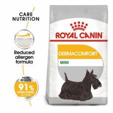 ROYAL CANIN Mini Dermacomfort granule pre malé psy s problémami s kožou 1 kg