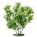 Plastová rastlinka do akvária 28 cm, rozstrapkané listy