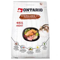 Ontario Cat Sterilised 7+, 2 kg