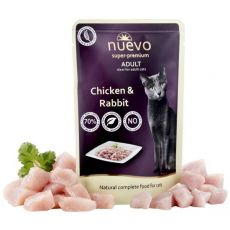 Kapsička NUEVO CAT Adult Chicken & Rabbit 85 g