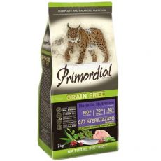 Primordial GF Cat Sterilizzato Turkey & Herring 2 kg