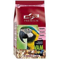 Parrots Premium 1kg - krmivo pre veľké papagáje