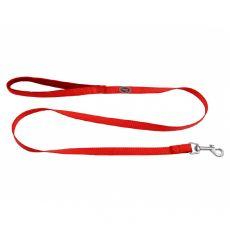 Červené vodítko s neoprénovou rúčkou 1,2 m / 15 mm