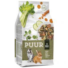 PUUR Rabbit - gurmánske müsli pre králiky 2 kg