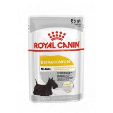 Royal Canin Dermacomfort Dog Loaf kapsička s paštétou pre psy s problémami s kožou 85 g