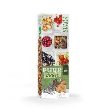 PUUR PAUZE sticks Forest Friut - tyčinky s lesným ovocím pre hlodavce 2 ks